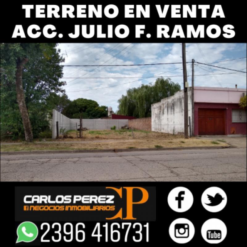 LOTE DE TERRENO EN VENTA, 10 X 20 MTS.sobre ACCESO JULIO F RAMOS